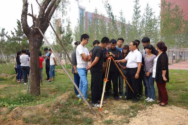 园林技术专业校内实践教学